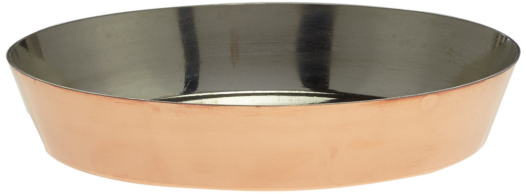 Bourgeat Copper Tin-Lined Tart Tatin Mold 11'' X 1 7/8''