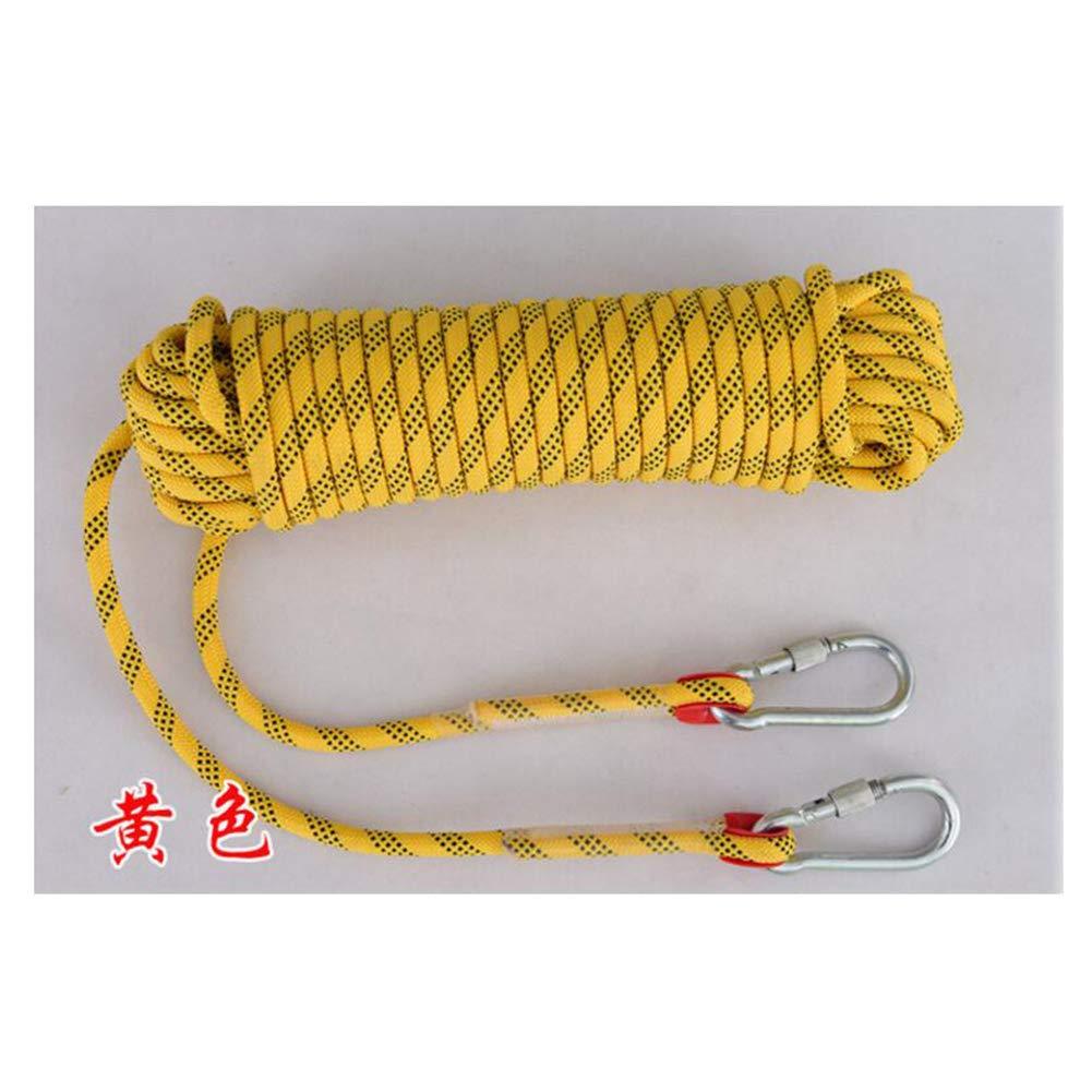 GYHHHM Klettern Rope,16mm Fluchtrettungs-Rope arbeitet am Heißsicherungsbereich, Heißsicherungsbereich, Heißsicherungsbereich, Parachute Statische Sicherheits-Rope,c,10m B07PWBF4SP Bergseile Sehr praktisch 28cc48