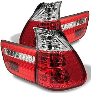 BMW X5 E53 00-06 Red LED Rear Brake Tail Light Lamp