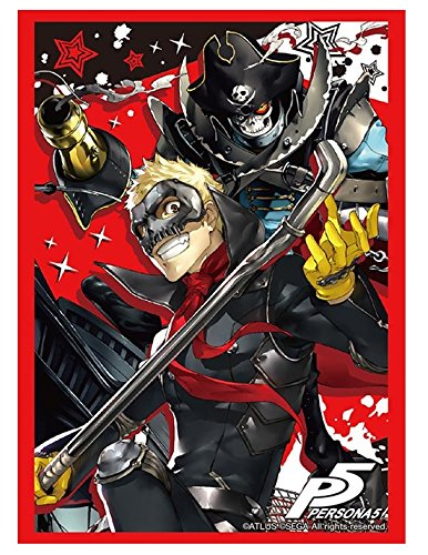 Persona 5 Skull & Captain Kid Trading Character Card Game Sleeves Collection Vol 1202