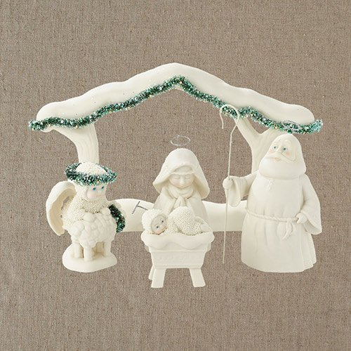 Department 56 Snowbabies Dream a Child is Born Nativity Figurines, 6.25 inch (Set of 5)