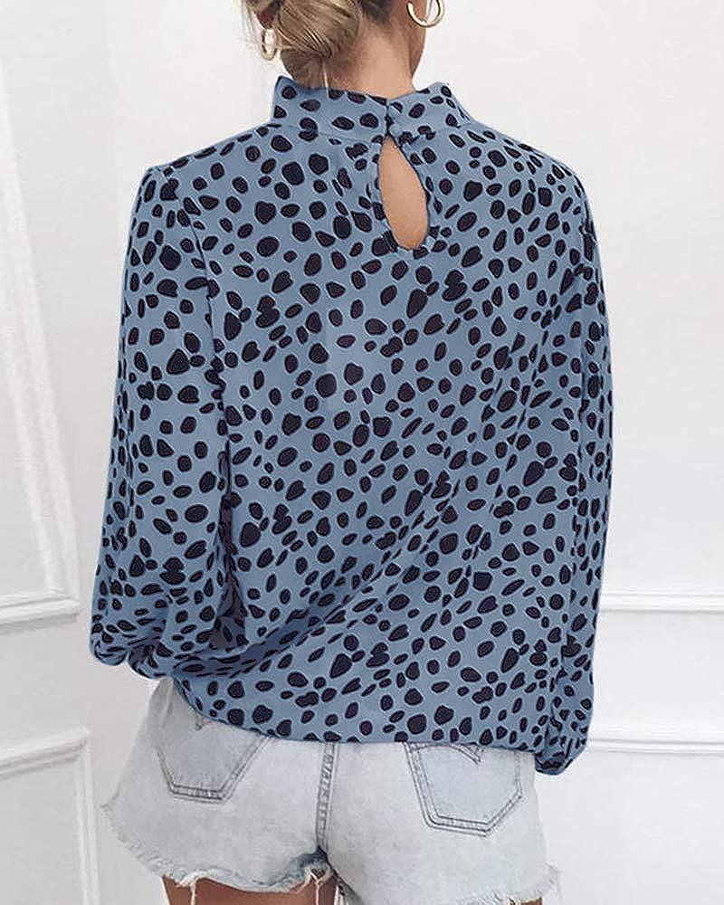 Amazon.com: SySea Camisas de gasa con estampado de leopardo ...