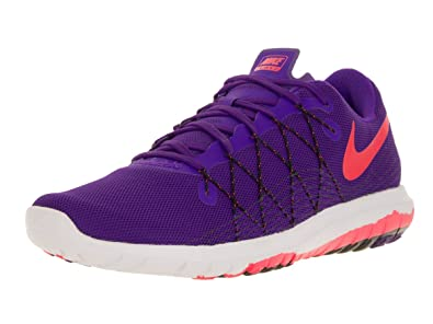 Nike Women s Flex Fury 2 Purple Bright Crimson Black 819135-500 (Size 239231380