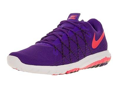 Nike Women s Flex Fury 2 Purple Bright Crimson Black 819135-500 (Size 7d6c901f49
