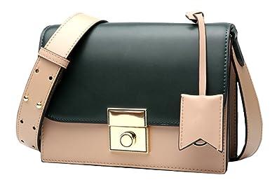 Heshe Womens Fashion Leather Handbags Ladies Purse Shoulder Bag Cross Body  Bags Designer Satchel Summer Style 552b804e1e35e