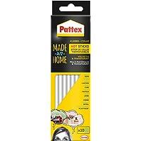 Pattex Made at Home Hot Sticks/Heißklebesticks zum Nachfüllen von Pattex Heißklebepistolen/1 Packung (200 g) mit 10 Pattex Hot Sticks, Ø 11 mm