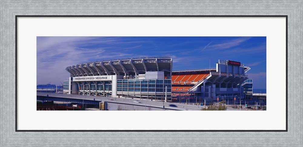 Cleveland Browns Stadium Cleveland OH by Panoramic Images Framed Art ...