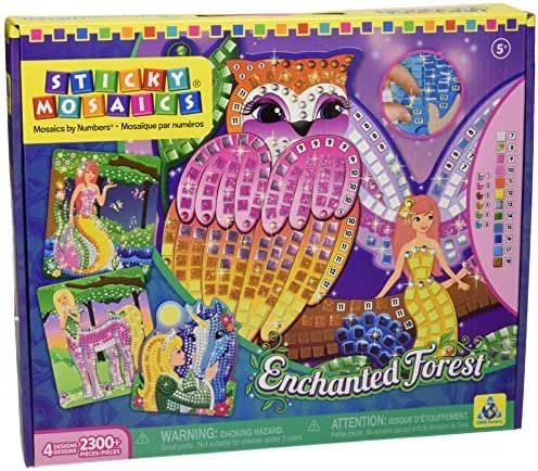 Sticky Mosaics Enchanted Forest by The Orb Factory