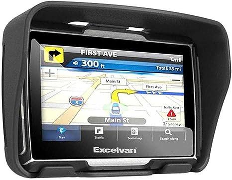 """4,3/"""" Zoll 8G Bluetooth PKW Motorrad Rider Navigationsgerät NAV Europa mit Halter"""