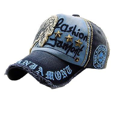 57a8011e26929 キャップ 帽子 Kukoyo 春夏 野球帽 ワークキャップ 男女兼用 カウボーイ 刺繍 英文字プリント