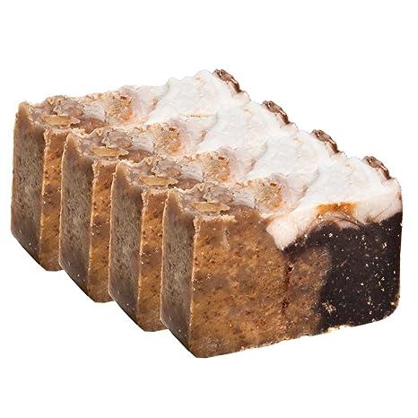 Pastilla de jabón de miel y avena (4 Bar Set) - Orgánica y artesanal