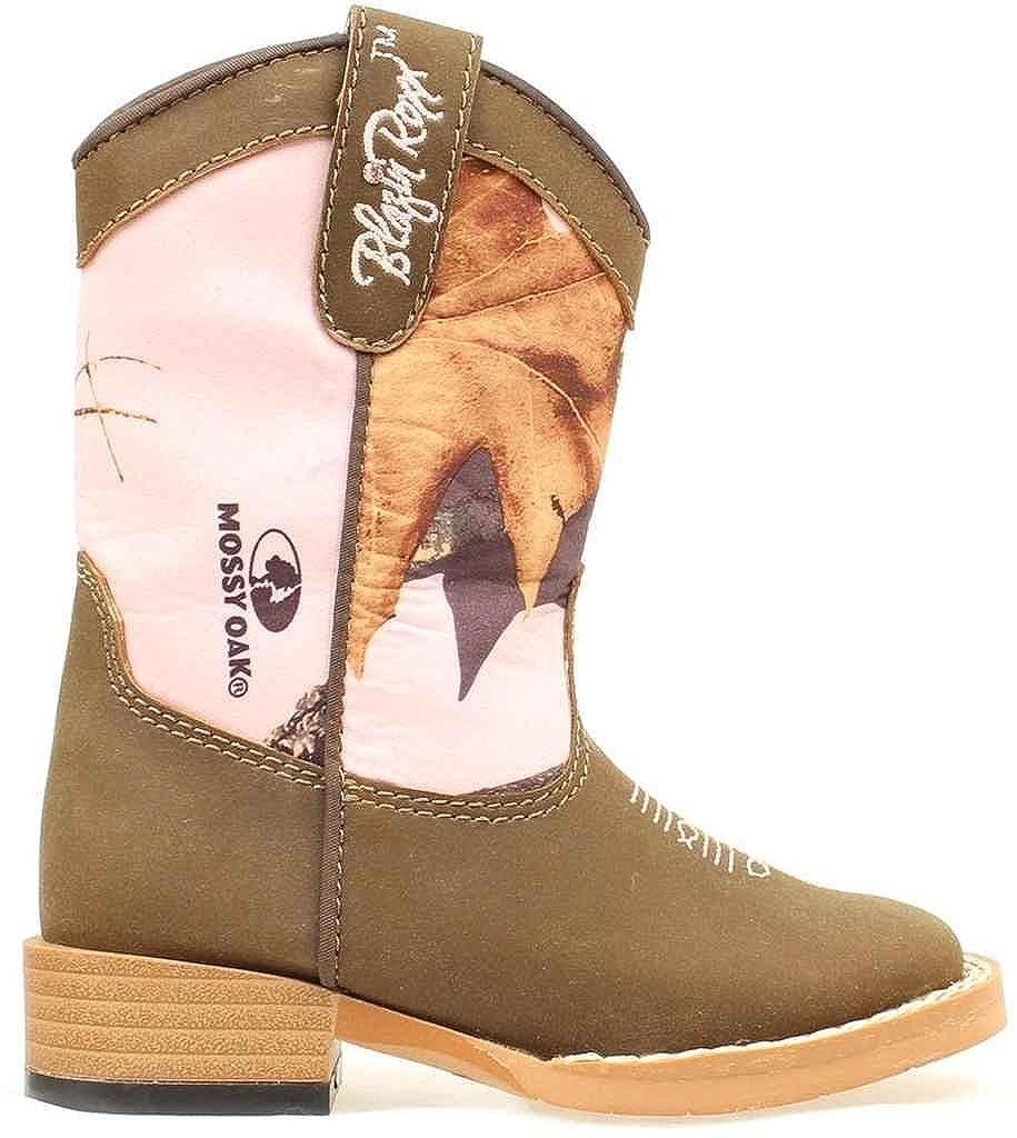 Blazin Roxx 4412202 Toddlers Briar Boot Brown//Mossy Oak Pink 8 M US