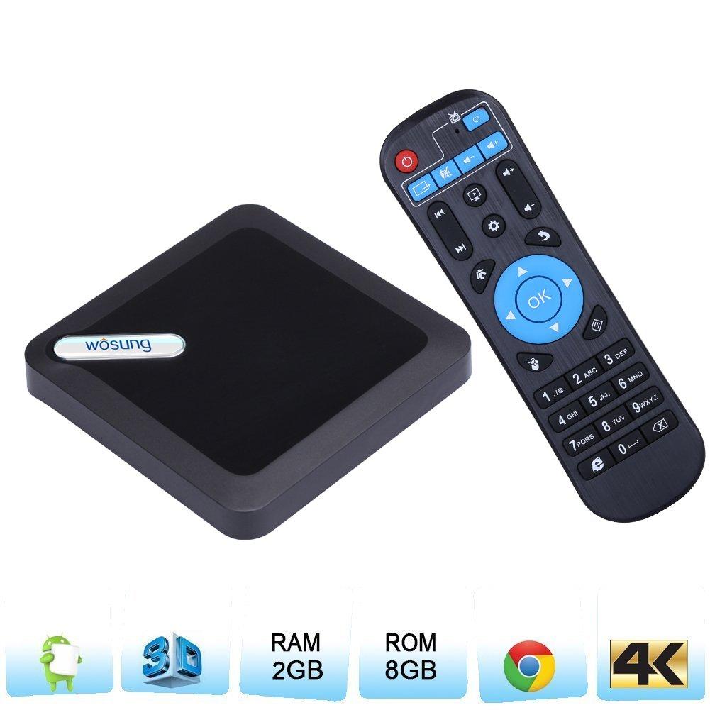 TV box Android 6.0,Newest 2017 Andorid box 95X Amlogic S905X smart TV Box RAM 2G 8G EMMC Quad Core Mali 450 4K 3D 64 Bits Bluetooth 4.0 Set Top Box