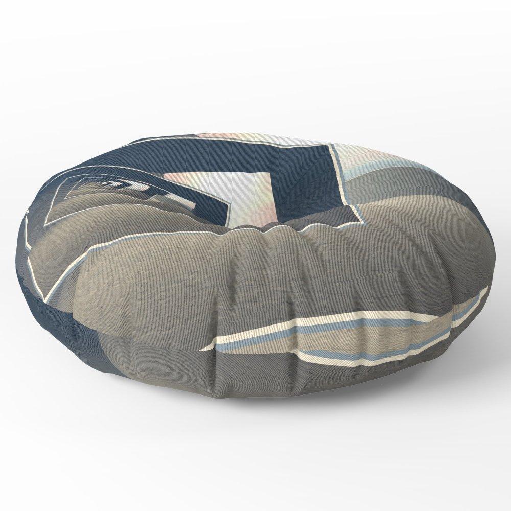 Society6 Surreal Windows Floor Pillow Round 26'' x 26''