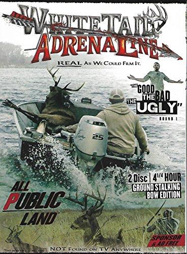 Whitetail Adrenaline   The Good Bad Ugly Round 1   2 Dvd Set All Public Land Whitetail Deer Gun Hunting