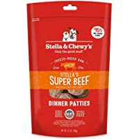 Stella & Chewy's Freeze-Dried Raw Stella's Super Beef Dinner Patties for Dogs, 5.5 oz.