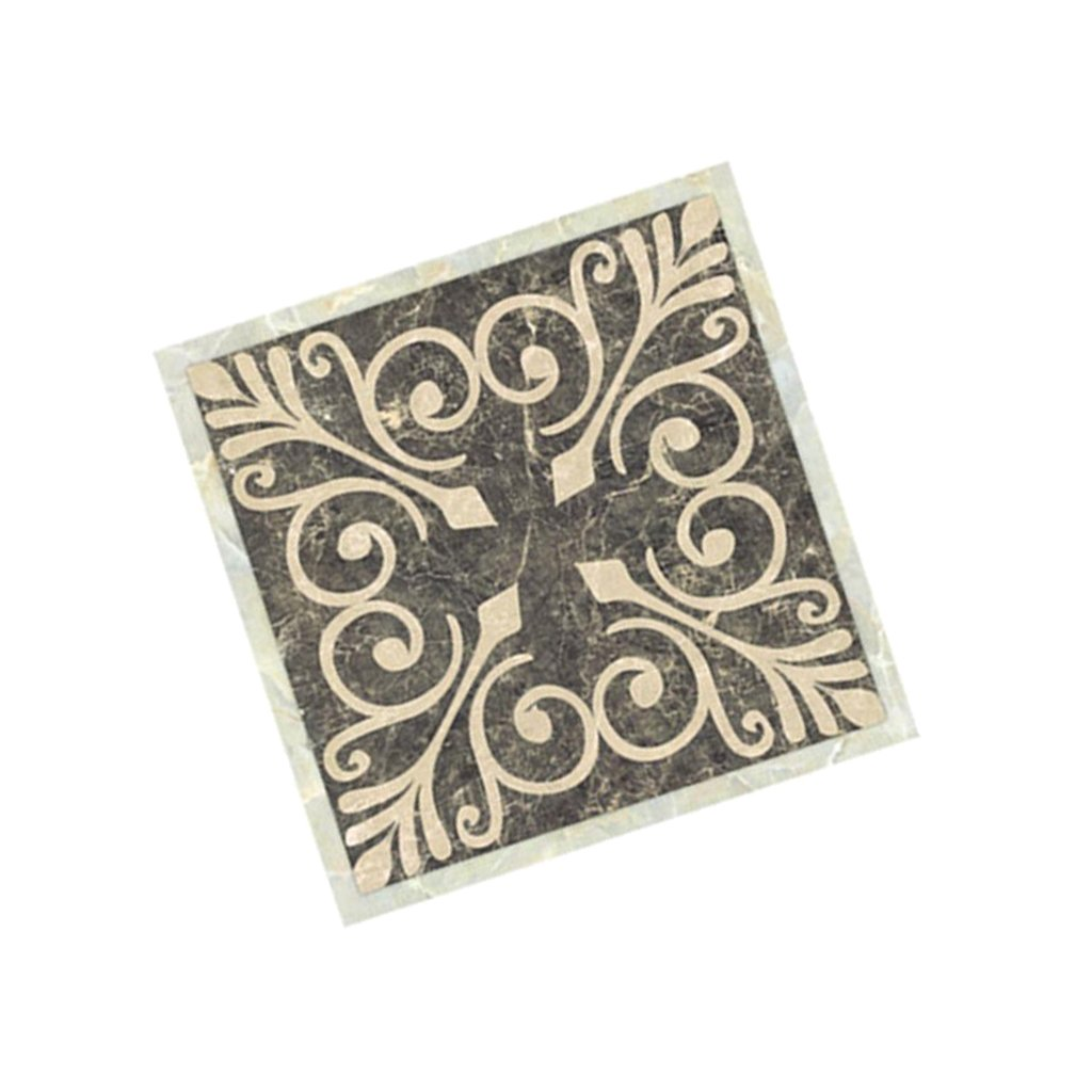 Blesiya 20 Pezzi Adesivi per Piastrelle Formato 8x8 cm Adesivi in PVC Adatto a Piastrelle Armadi Pareti Pavimenti Bagno Cucina B