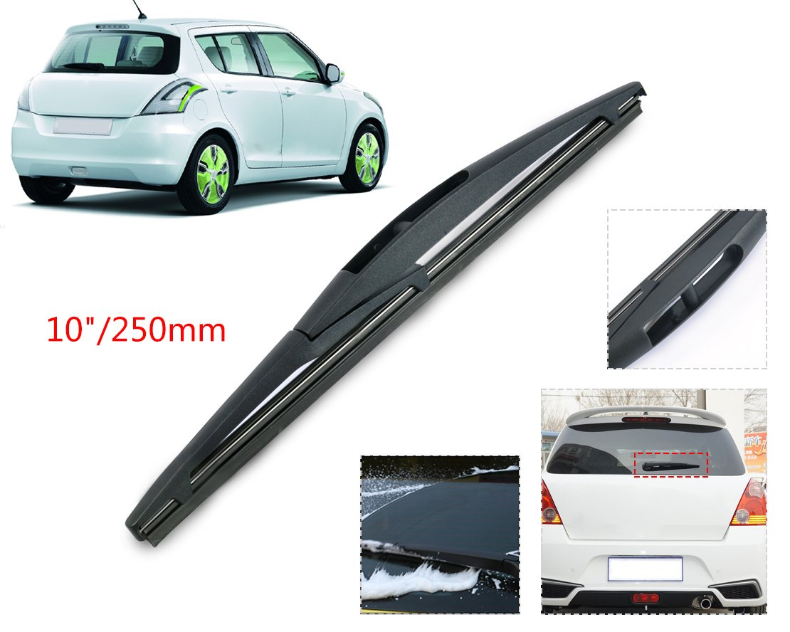 beler 10' Car Rear Rain Window Windshield Wiper Blade hermeshine