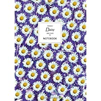 Daisy Notebook - Lined Pages - A4 - Premium: (Purple Leaf Edition) Fun notebook 192 lined pages (A4 / 8.27x11.69 inches…