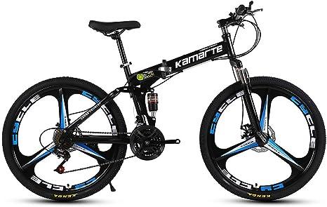 Bicicleta de Montaña de 26 Pulgadas Rueda Integral 27 Velocidad ...