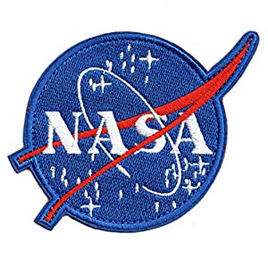 Classic Tactical NASA Patch Iron On Patches for Team Morale