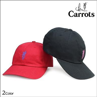 3838cda89f261 キャロッツ 帽子 キャップ ユニセックス KATAKANA DAD HAT レッド (並行輸入品)