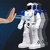 Intelligent Robot télécommandé Rc jouet cadeau - Wishtime Smart Action RC Robot Randonnée Sing Dancing Programmable et Gesture Sensing pour Enfants Enfants Divertissement