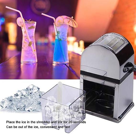 Compra Artoct - Molinillo de hielo manual de acero inoxidable ...