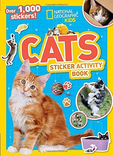 National Geographic Kids Cats Sticker Activity Book (NG Sticker Activity (Halloween Kindergarten Math Activities)