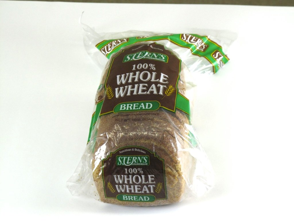 100% Whole Wheat Healthy Bread - 8/16oz. by Stern's Bakery