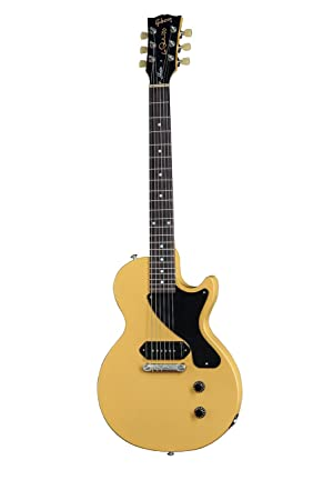Gibson Les Paul Junior 2015 - Guitarra eléctrica, acabado gloss yellow: Amazon.es: Instrumentos musicales