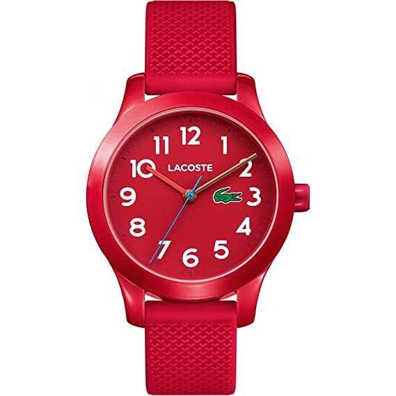 1b8c899f992c Lacoste Reloj Análogo clásico para Niños de Cuarzo con Correa en Silicona  2030004  Amazon.es  Relojes