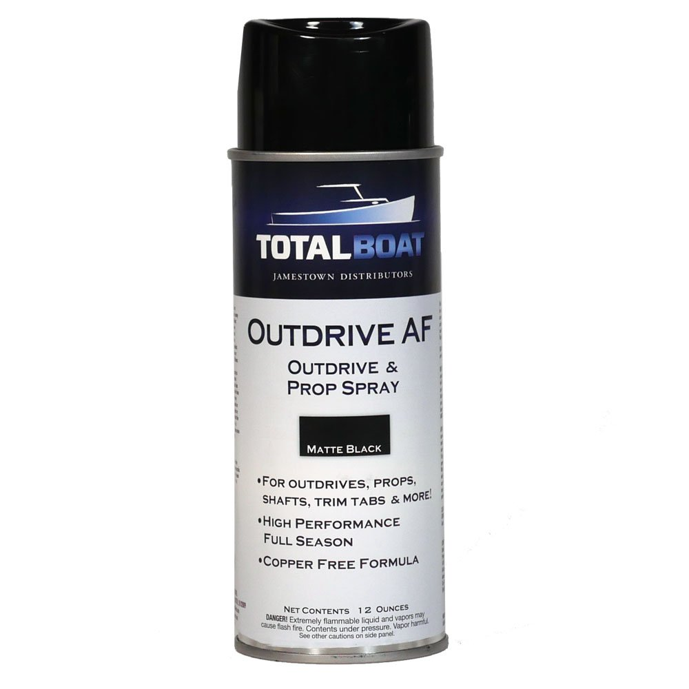 TotalBoat Outdrive AF Aerosol Spray Paint for Propellers & Underwater Metals