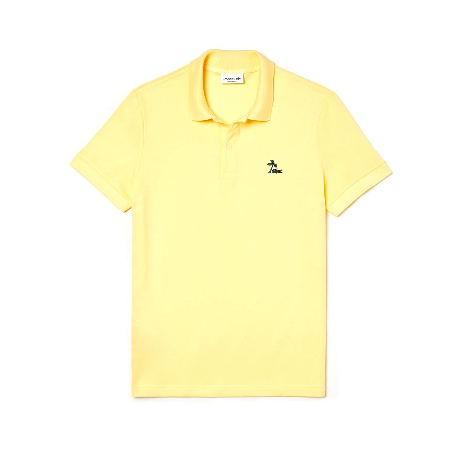 Jaune S Lacoste Polo Homme