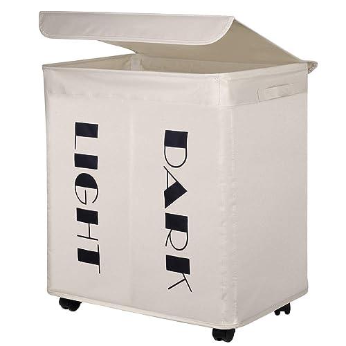 Laundry Hamper On Wheels Amazon Co Uk