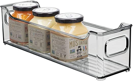 mDesign Fiambrera para el frigorífico – Caja de plástico para ...