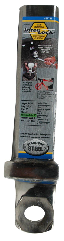 Reese Towpower 21791 Stainless Steel Class III Interlock Ball Mount