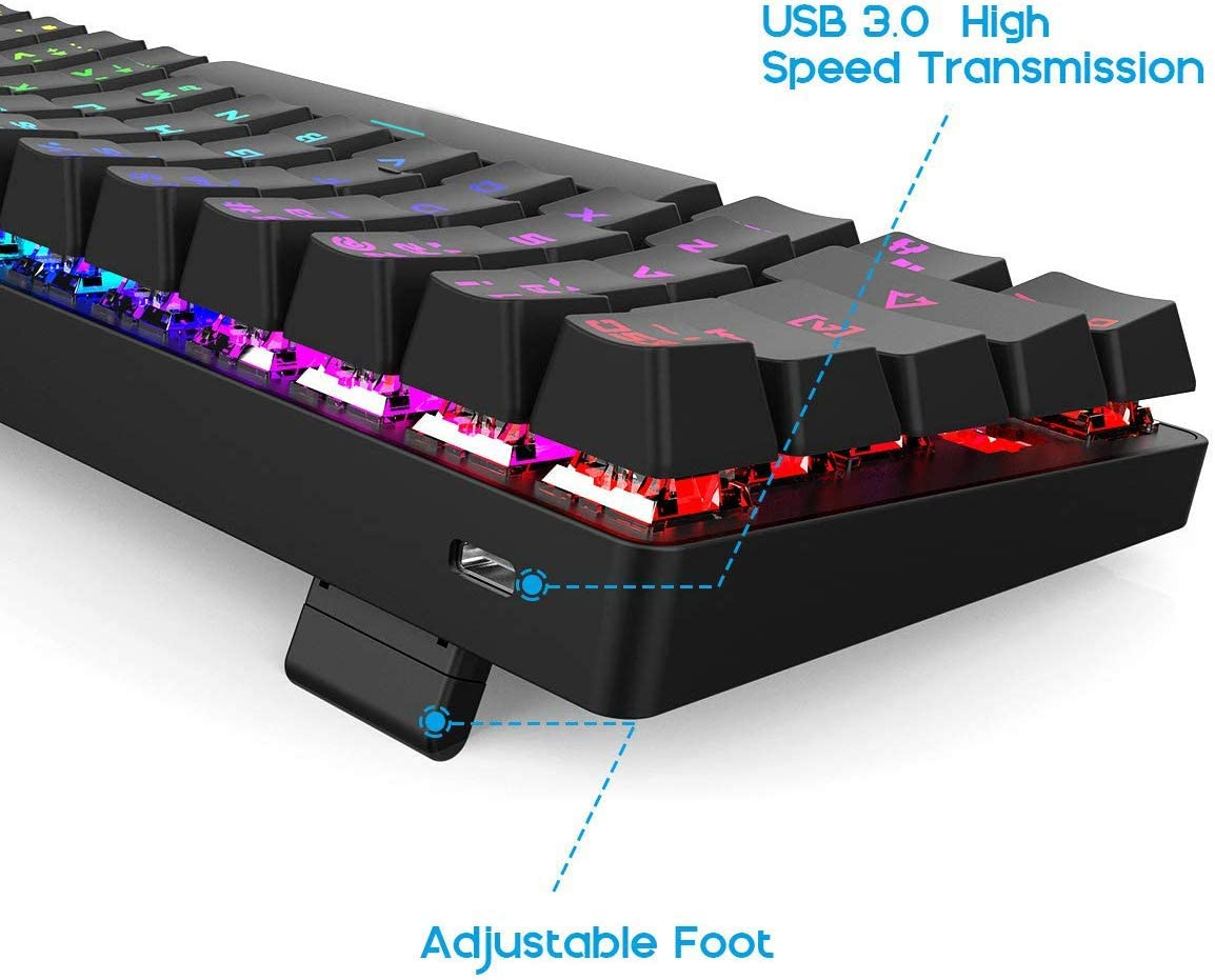 DIERYA Mechanical Gaming Keyboard 60%