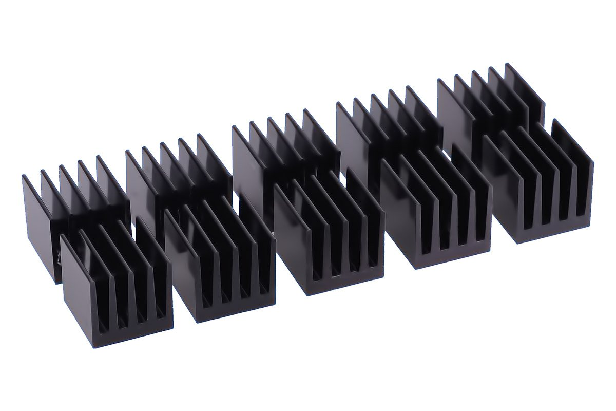 Amazon.com: Alphacool GPU RAM disipadores, 15 x 15 mm, Negro ...