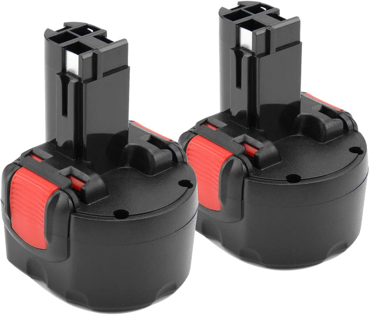 2X Shentec 9.6V 3.5Ah Ni-MH Reemplazo para bater/ía Bosch BAT048 BAT100 BAT119 2607335272 2607335461 Gsr 9.6VE-2 PSR 9.6VE-2 PSR960 23609 32609-RT