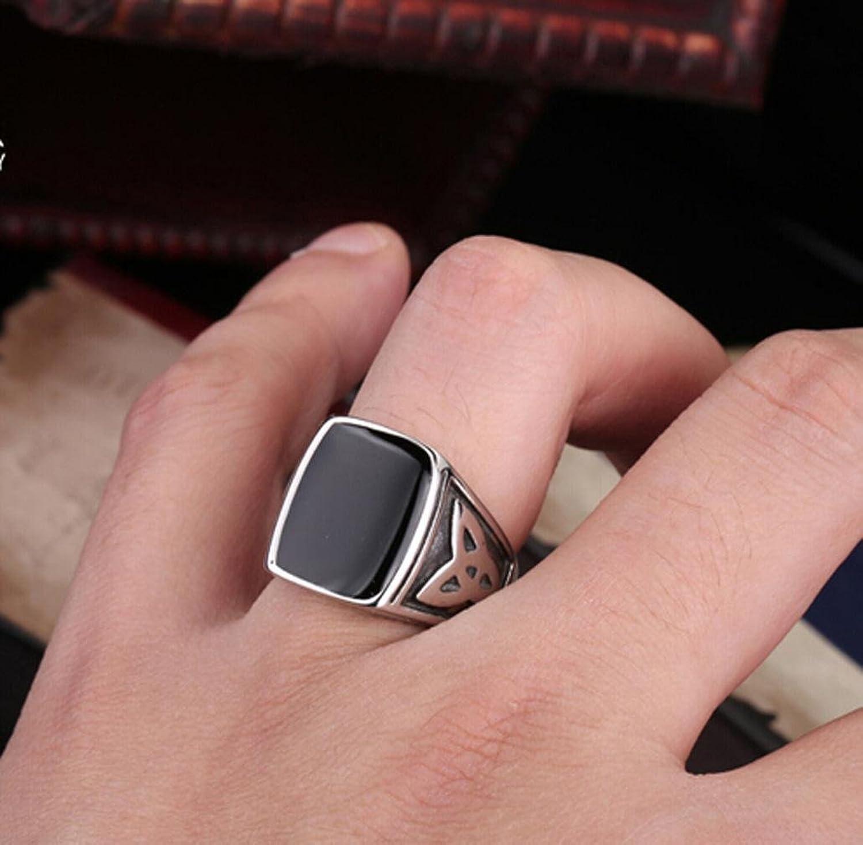 ZWC Titanium steel rings men\'s index finger ring fashion jewelry ...
