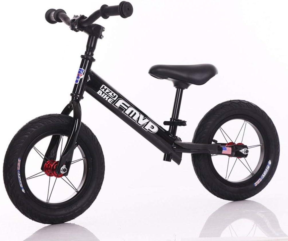 KELITE Balance de Bicicleta for niños Edad 3 a 6 Años No-Pedal de la Bici Caminar Equilibrio Formación niños pequeños con Asiento Ajustable