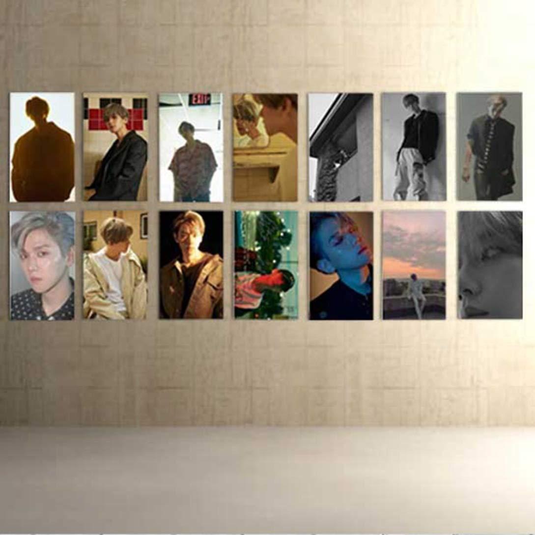 Piccola Carta Fotografica Gecheng Popular EXO Baekhyun Single 07 Solo Un Village Box