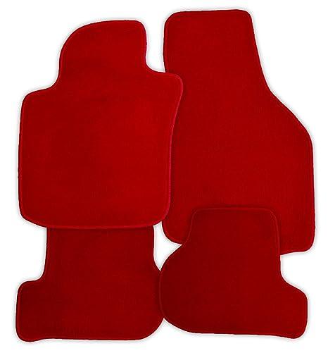 Velours Fußmatten Set für TOYOTA PRIUS 2 03-09 4-teilig Matten Autoteppiche