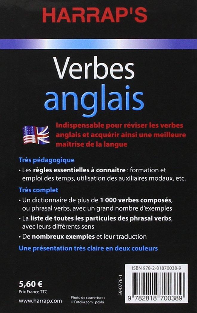 Harrap S Verbes Anglais Harrap S Parascolaire 9782818700389 Amazon Com Books