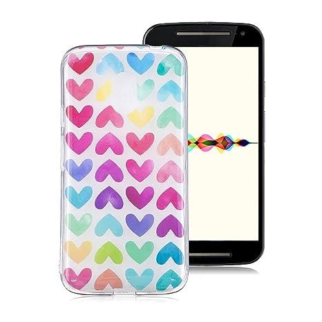Funda Suave para Motorola Moto G4 Play, Ronger Carcasa ...