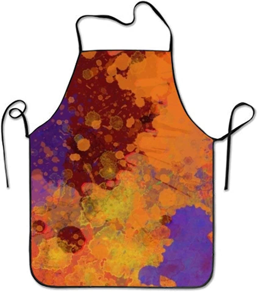 dfhfdshfdshsd dfhfd Delantales,Delantales para barbacoas y ahumadores,bevoicep Aprons Spray Paint for Men Stitched Edges Women's Fashion