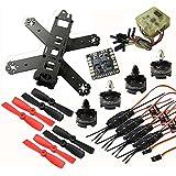 Hobbypower DIY 210mm Racing Quadcopter frame Kit with T2204 2300KV Brushless Motor Simonk 12A ESC CC3D Flight Controller