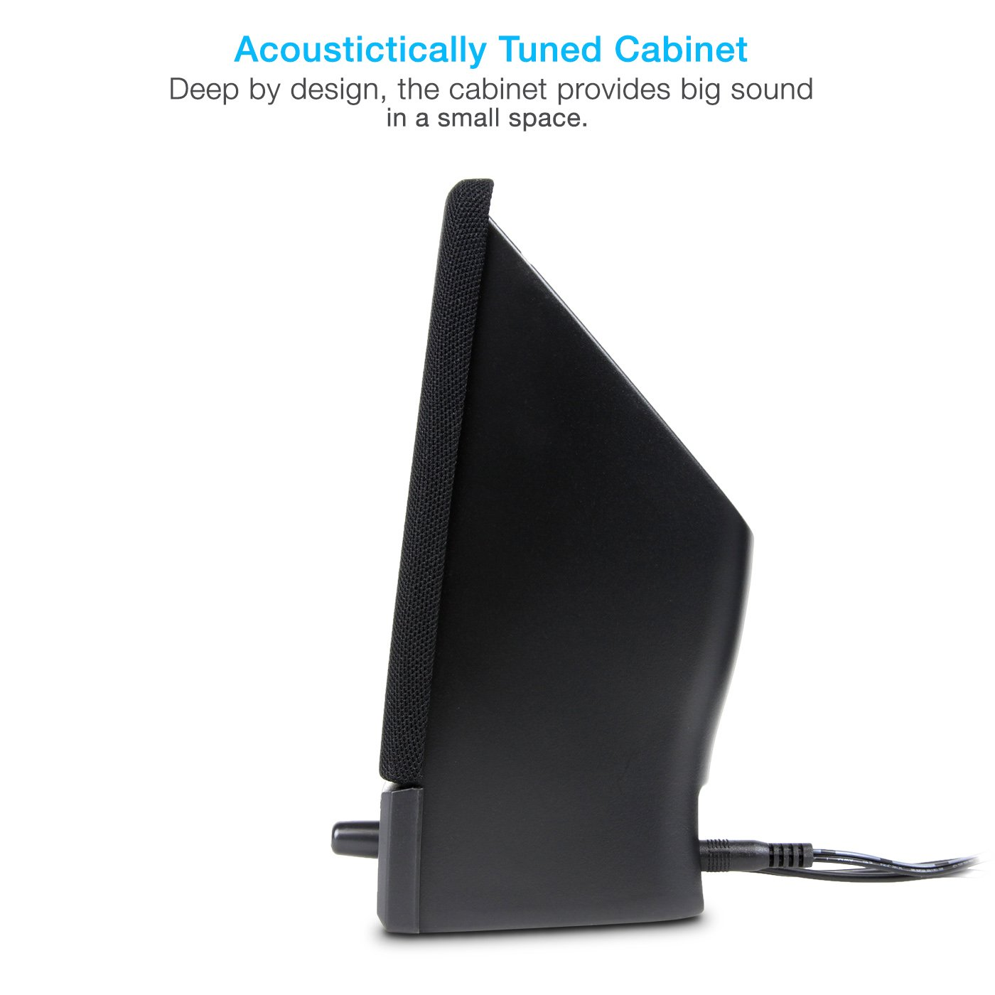 Cyber Acoustics CA-2014 multimedia desktop computer speakers by Cyber Acoustics (Image #4)