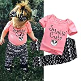 Mefarla Newborn Infant Baby Kids Girls T-shirt Tops+Long - Best Reviews Guide
